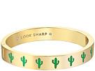 Kate Spade New York - Idiom Bangles Look Sharp - Hinged Bracelet