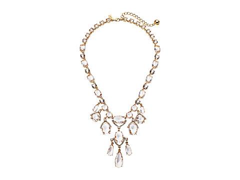 Kate Spade New York Crystal Cascade Statement Necklace