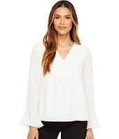 Calvin Klein - Bell Sleeve V-Neck Blouse