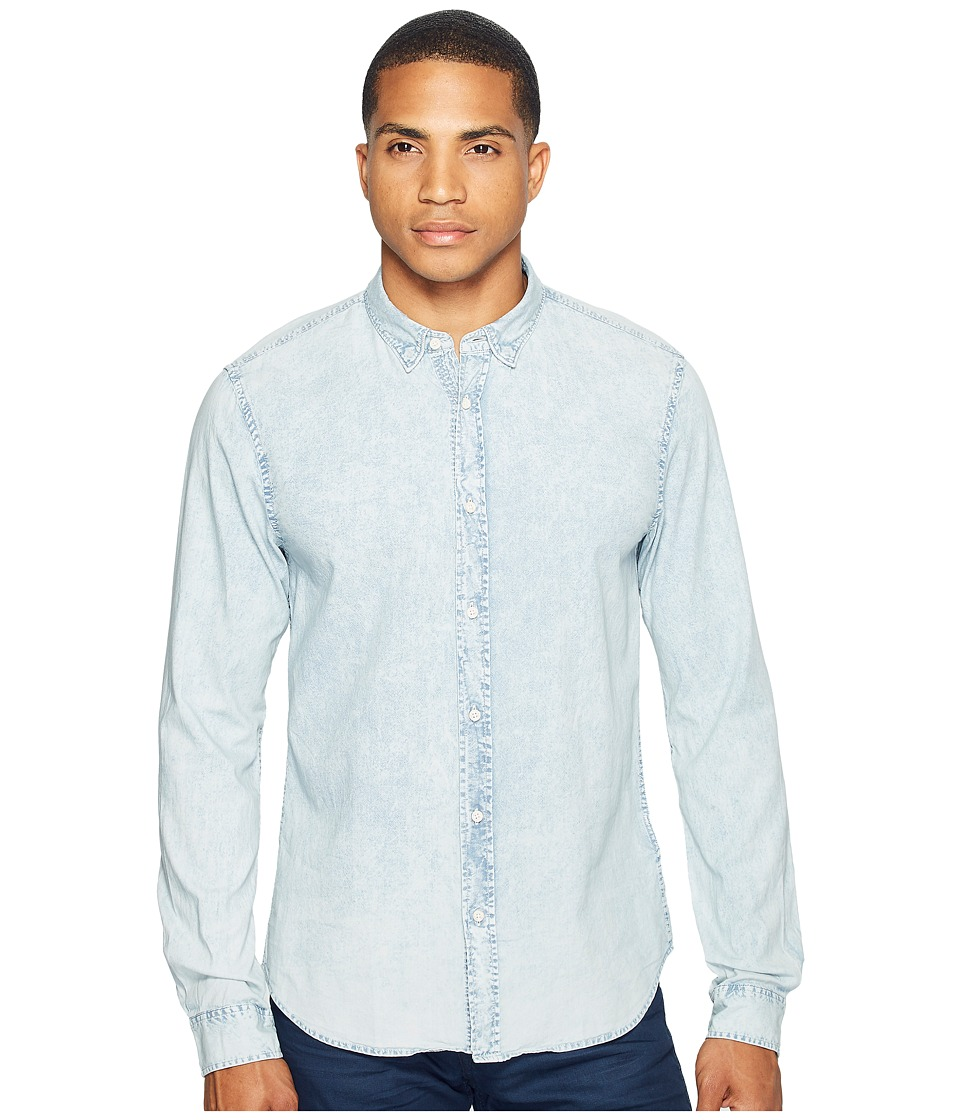 Scotch & Soda - Classic Denim Shirt in Cotton Quality