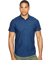 Scotch & Soda - Short Sleeve Shirt in Structured Cotton Quality