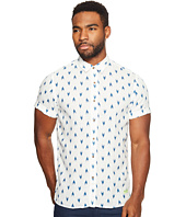 Scotch & Soda - Short Sleeve Shirt in Linen Quality with Colorful All Over Print