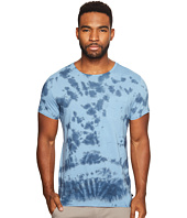 Scotch & Soda - Tie-Dyed Crew Neck Tee in Melange Jersey Quality