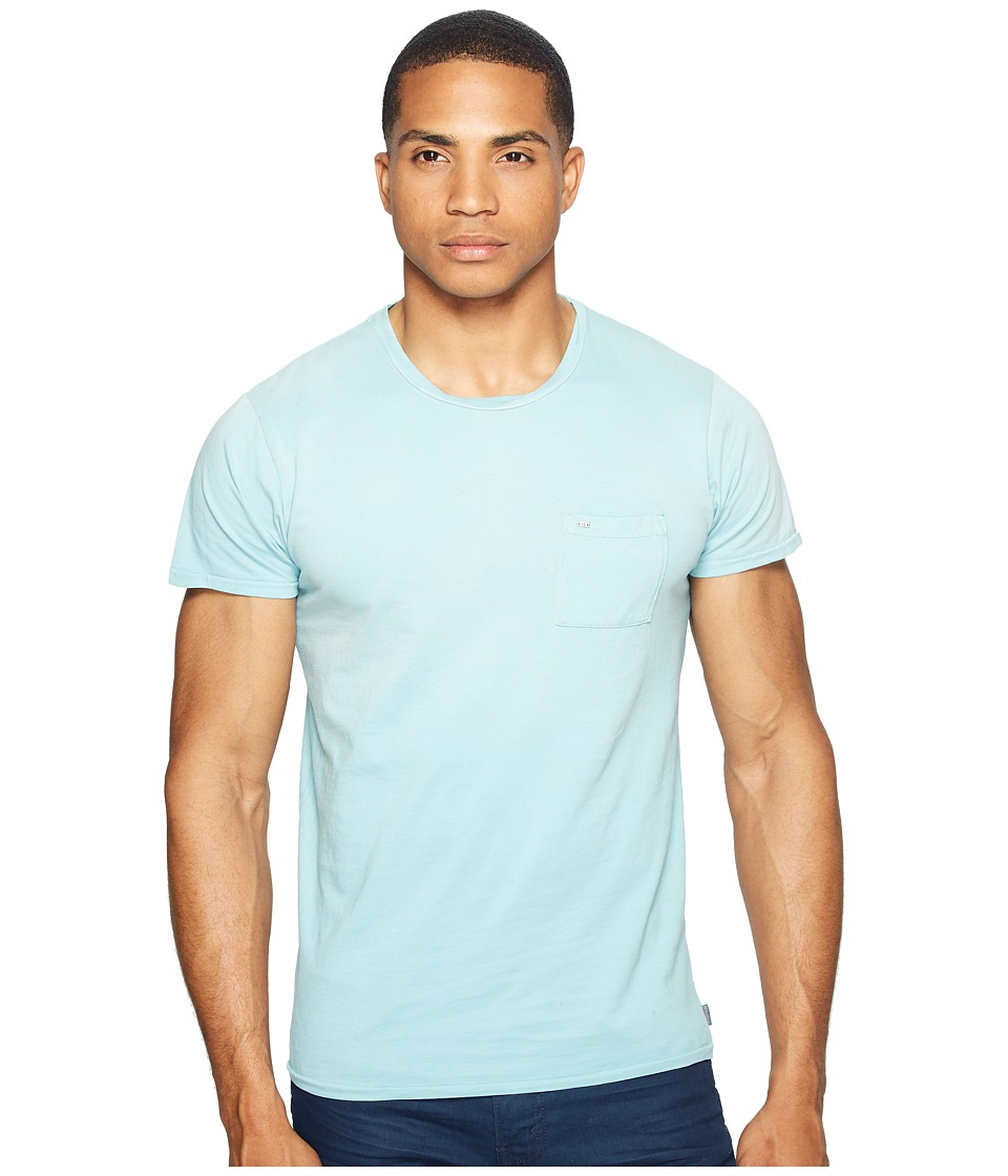 Scotch & Soda - Garment Dyed Twisted Crew Neck Tee in Lightweight Jersey Quality