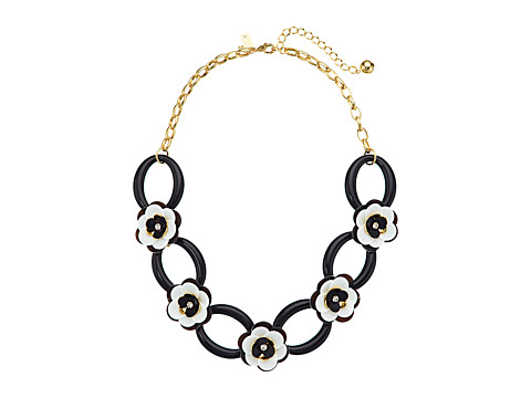 Kate Spade New York Rosy Posies Link Necklace