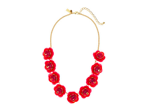 Kate Spade New York Rosy Posies Necklace