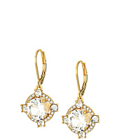Kate Spade New York - Crystal Cascade Leverbacks Earrings