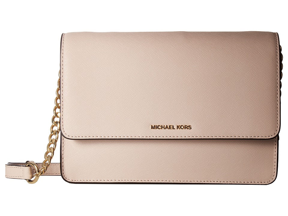 MICHAEL Michael Kors - Daniela Large Crossbody (Soft Pink) Cross Body Handbags