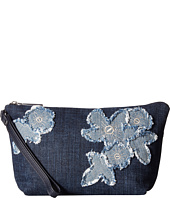 MICHAEL Michael Kors - Denim Item Medium Pouch