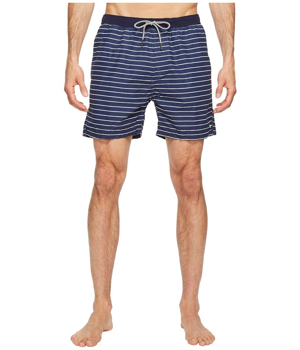 Scotch & Soda Medium Length Colorful Swim Shorts in Cotton/Nylon Quality (Combo C) Men