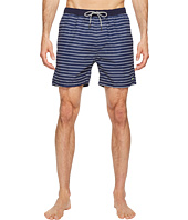 Scotch & Soda - Medium Length Colorful Swim Shorts in Cotton/Nylon Quality