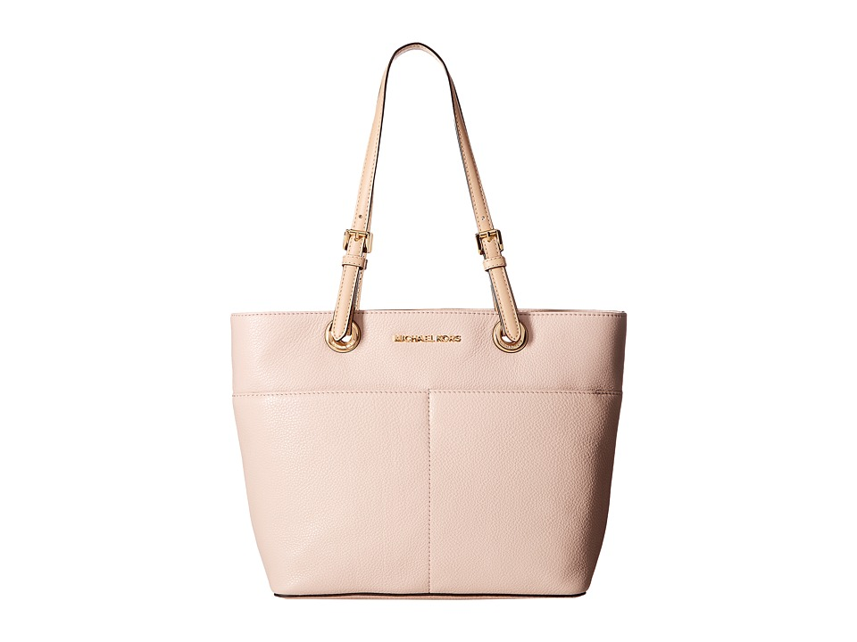 Michael Kors Bedford Top-Zip Pocket Tote (Soft Pink) Tote...