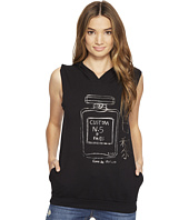 Custom Ketchup - Perfume Gunmetal Foil on Sleeveless Hoodie