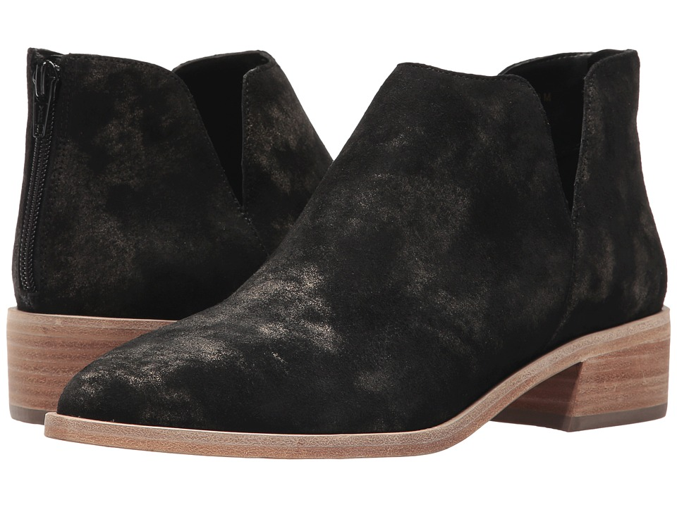 Vaneli Frappe (Black/Gold Rory Suede) Women