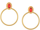 Bright and Bold Hoops Earrings