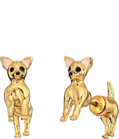 Kate Spade New York - Haute Stuff Chihuahua Ear Jackets Earrings