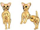 Kate Spade New York - Haute Stuff Chihuahua Ear Jackets Earrings
