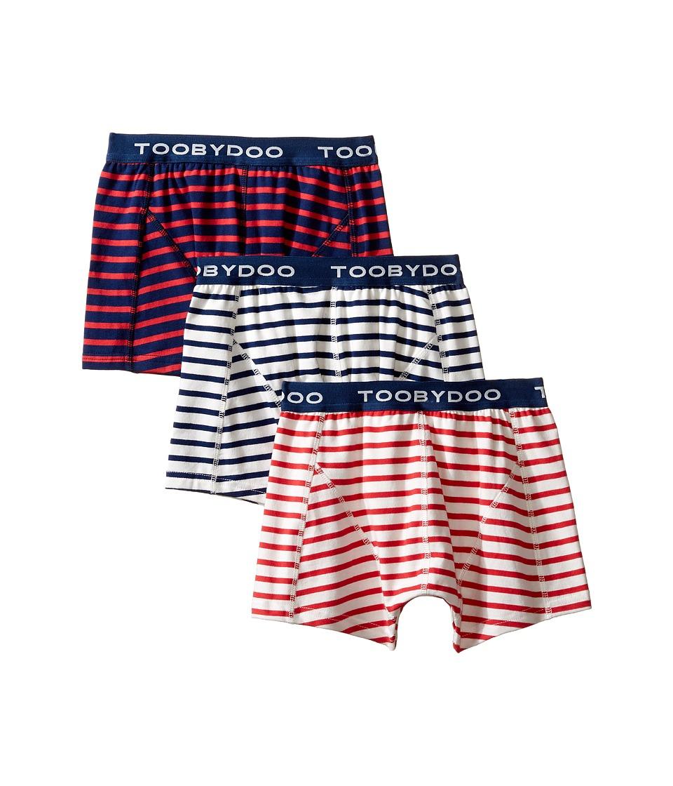 Toobydoo - Multi Stripe Underwear 3-Pack