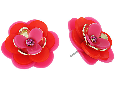 Kate Spade New York Rosy Posies Statement Studs Earrings
