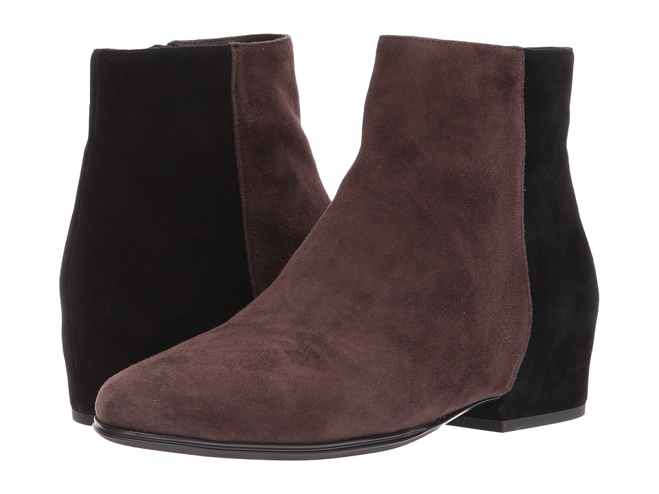 Vintage Style Boots, Retro Boots, Granny Boots, Fur Top Boots Vaneli - Glynis Tmoro SuedeBlack Suede Womens Boots $194.95 AT vintagedancer.com