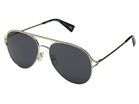 Marc Jacobs Marc 168/S - Gold/Black with Gray/Blue Lens