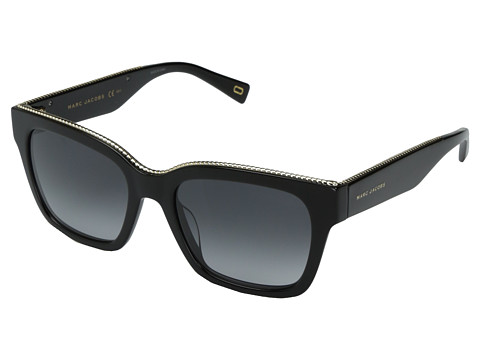 Marc Jacobs Marc 163/S - Black with Dark Gray Gradient Lens