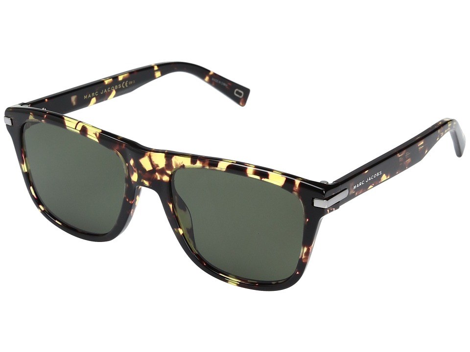 Marc Jacobs Marc 185/S (Crystal Havana with Green Lens) F...