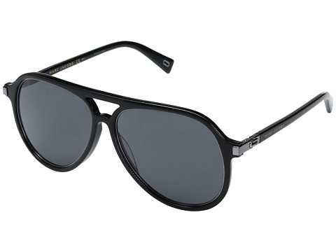 Marc Jacobs Marc 174/S - Black Ruthenium with Gray/Blue Lens