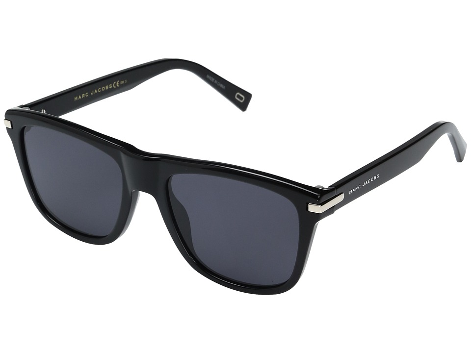 Marc Jacobs Marc 185/S (Black with Gray/Blue Lens) Fashio...