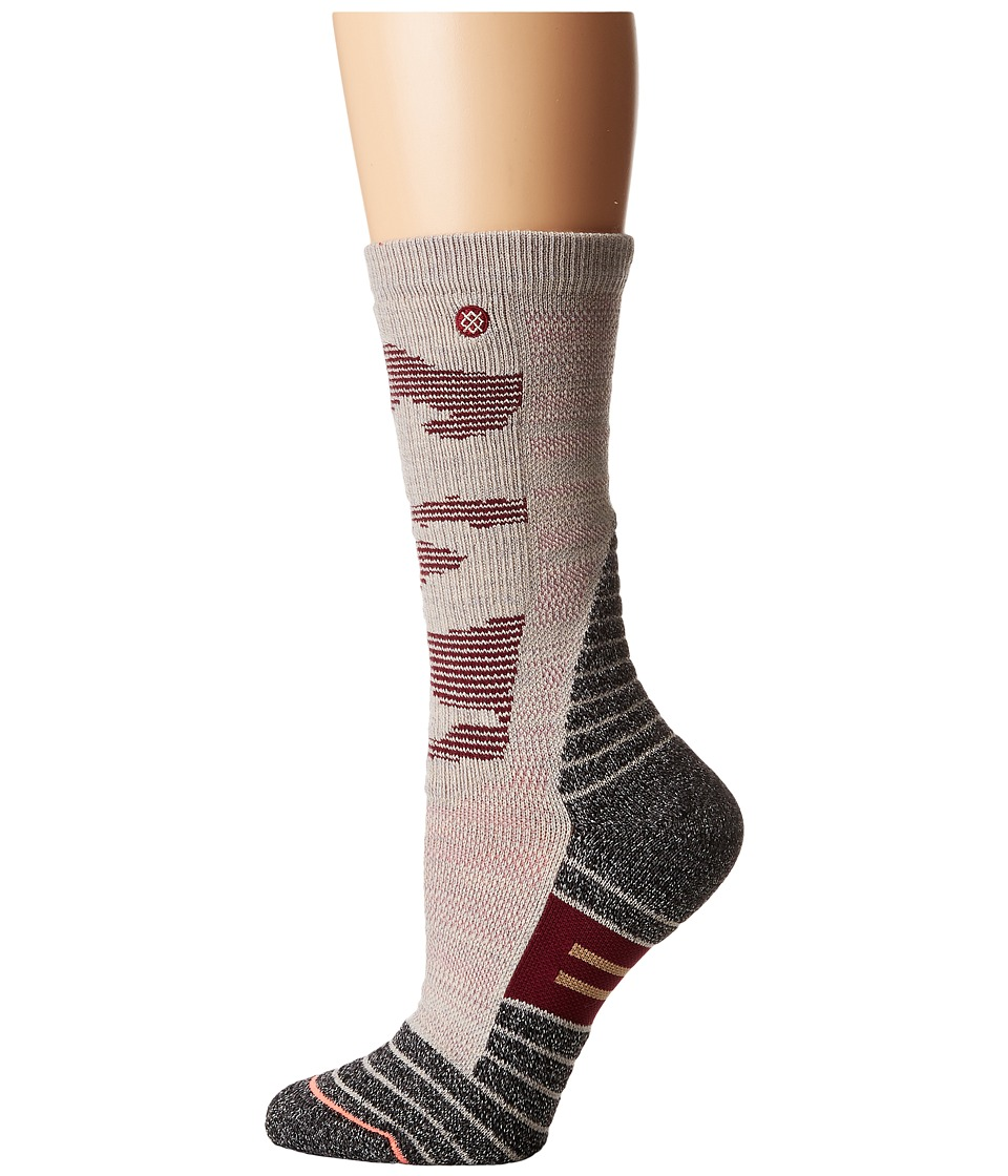 Stance Featherstone (Sand) Women's Crew Cut Socks Shoes