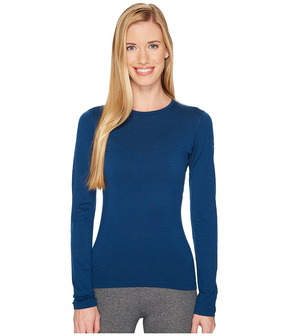 Icebreaker Oasis Long Sleeve Crewe (Largo) Women