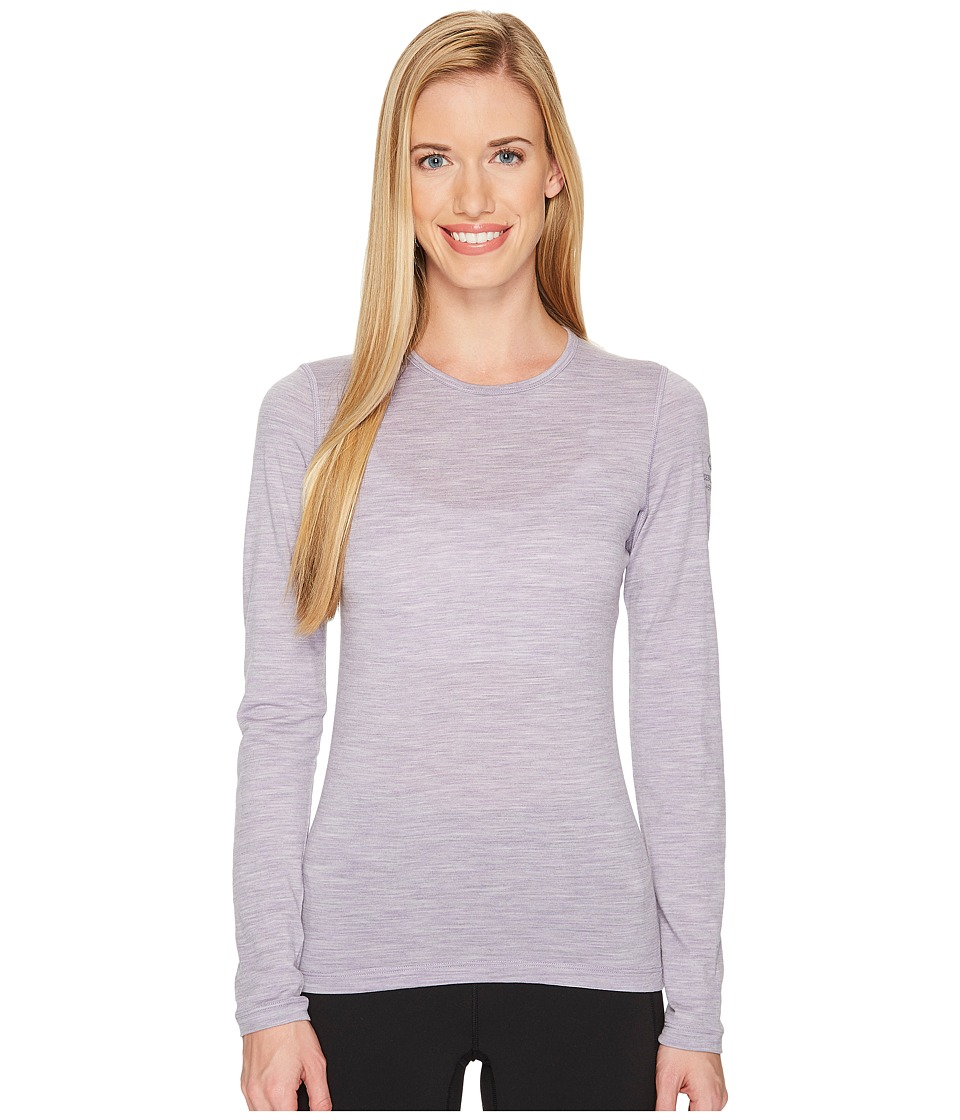 Icebreaker Oasis Long Sleeve Crewe (Silk Heather) Women
