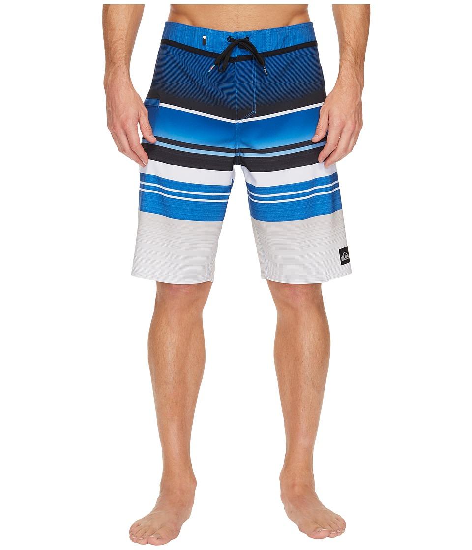 Quiksilver Everyday Stripe Vee 21 Boardshorts (Turkish Sea) Men
