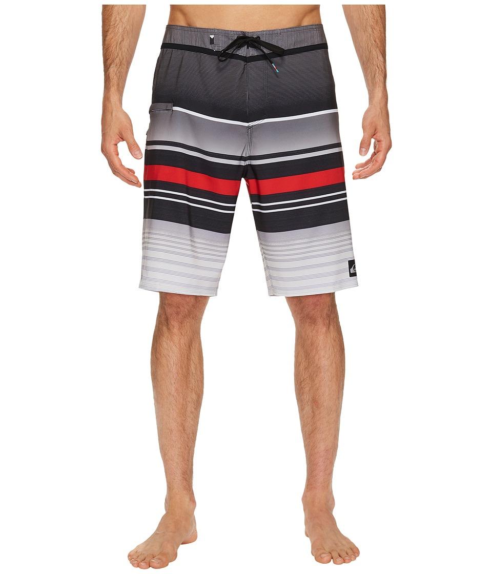 Quiksilver Everyday Stripe Vee 21 Boardshorts (Black 2) Men