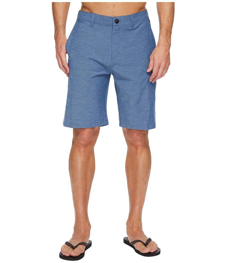 Quiksilver Union Heather Amphibian 21 Short (Estate Blue) Men