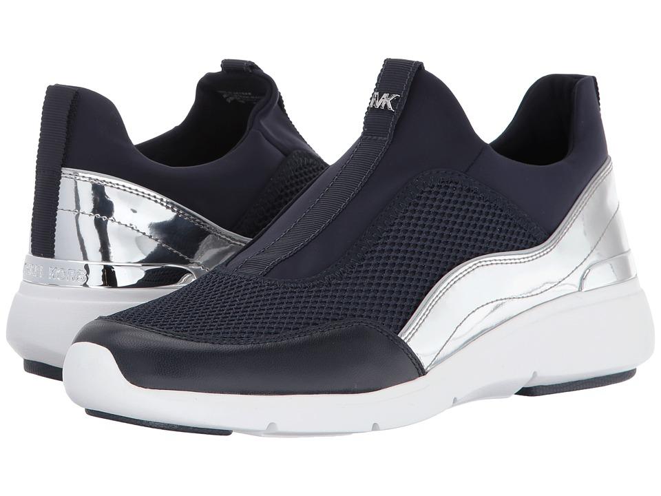 MICHAEL Michael Kors Ace Sneaker (Admiral/Silver) Women