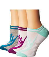 Nike - Sportswear Striped No Show 3-Pair Socks