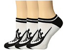 Nike - Sportswear Striped No Show 3-Pair Socks