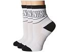 Nike Sportswear Striped Low Crew 3-Pair Socks