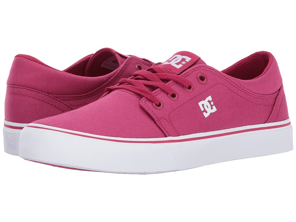 DC Kids Trase TX (Little Kid/Big Kid) (Raspberry) Girls Shoes
