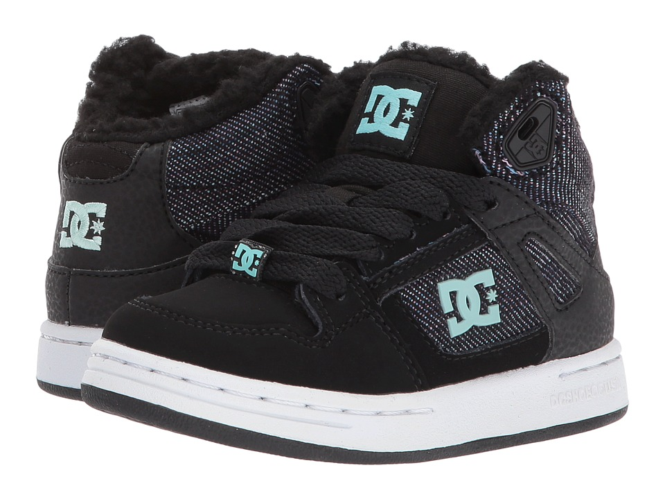 DC Kids Rebound WNT (Little Kid/Big Kid) (Multi 2) Girls Shoes