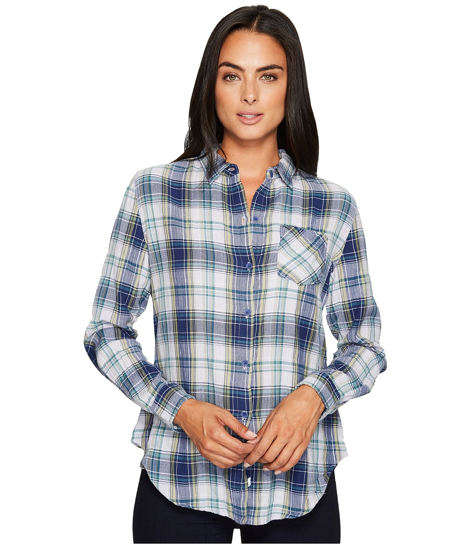 Woolrich Kanan Eco Rich Lightweight Shirt (Neptune) Women