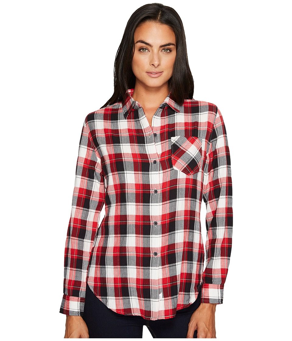 Woolrich Kanan Eco Rich Lightweight Shirt (Old Red) Women