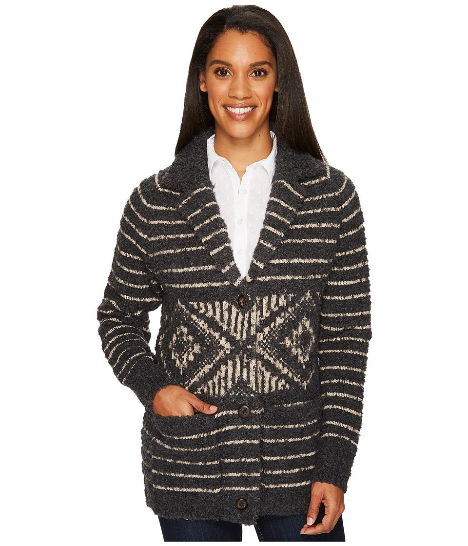 Woolrich Roundtrip Sweater Coat (Cool Gray) Women's Sweater