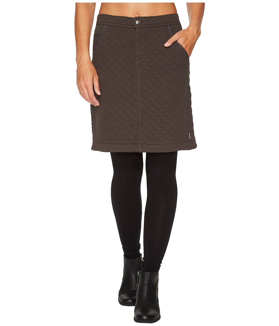Woolrich West Creek Skirt (Asphalt) Women