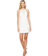 Jessica Simpson - Textured Dress with Neck Embellishment