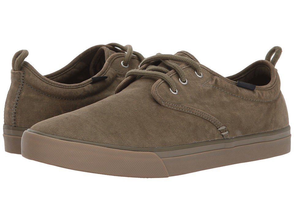 Sanuk Guide Plus Washed (Washed Army Green) Men