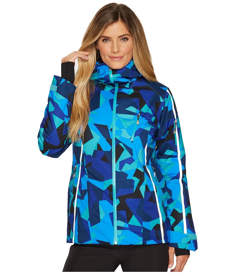 Spyder Willow Jacket (Baltic Camo Print) Women's Coat