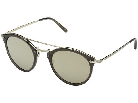 Oliver Peoples Remick - Taupe/Brushed Gold/Taupe Flash Mirror