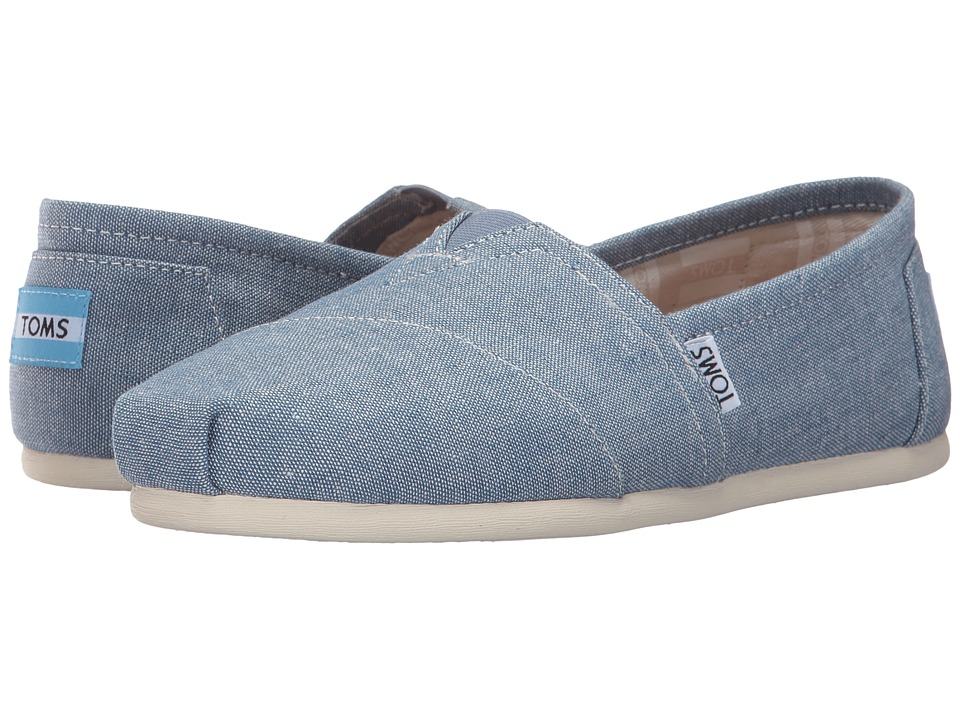 TOMS Alpargata (Blue Slub Chambray) Women's Shoes
